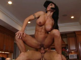 Amazing Anal Big Tits Brunette Hardcore Kitchen MILF Muscled Riding Shaved Tattoo