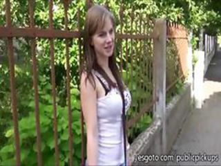 Super Sexy Busty Real Amateur From Czech Republic Flashesin A Public P...