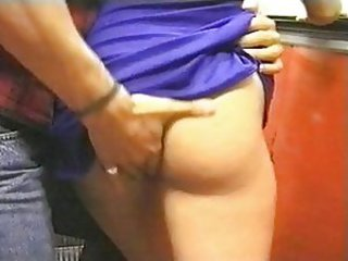 Ass slammed petite blonde whore
