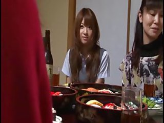 Asian Japanese Teen Mature Mom Daughter Old and Young