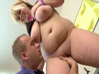 Chubby Young Blonde Fucked