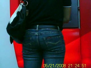 Filipina Pinay Adorable Asian Close-fisted Jeans Candid Voyeur