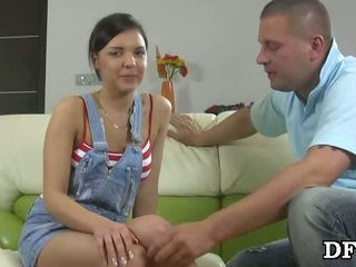 Brand-new shows her hymen