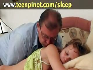 Girl fucked for ages c in depth sleeping...