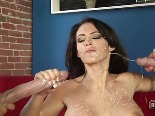 Busty whore Jenna Presley get...