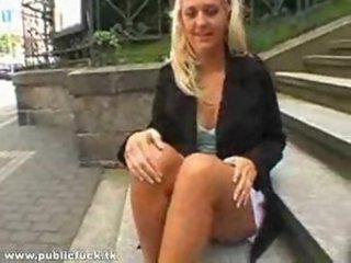 Young German Teen In Public Fucked