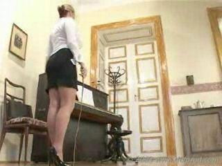 Strict feet loving teacher pu...