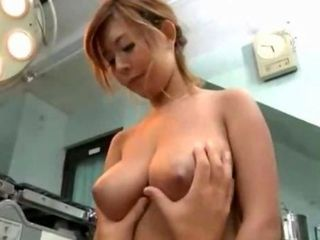 Busty Doctor Getting Her Tits...