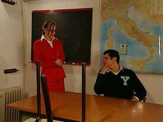 Fucking an Italian teacher...