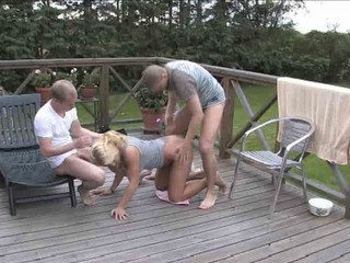 Danish Josephine 3some in the...
