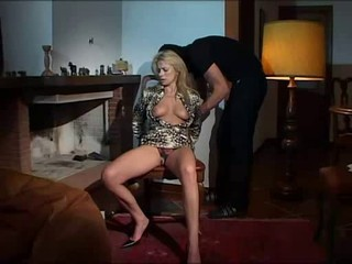 Italian Blonde Woman Gets Fucked By Criminal Man
