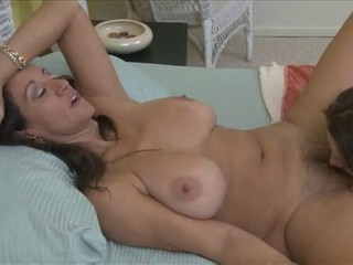 MILF Teen Lesbian Licking Mom Daughter Big Tits Natural