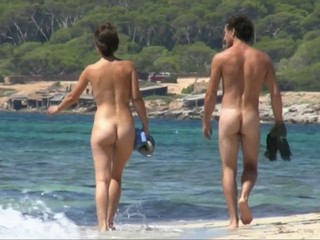 nude beach walk