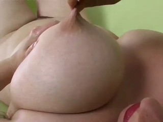 Big Boobs MILF Pinches And Pulls Her Nipples!!!!!!!