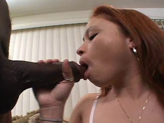 Asian Loves BBC In All 3 Holes