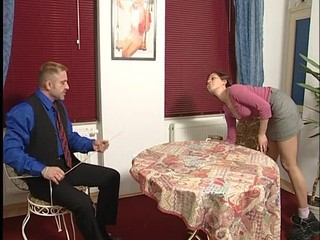 German teen maid punished...