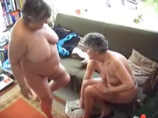 Two Grannies Try Out their...