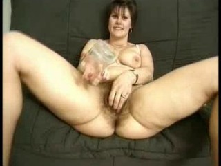 Very hot hairy mature french