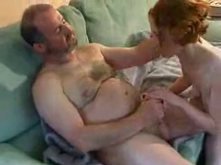 Redhead Schoolgirl and Experienced Man...
