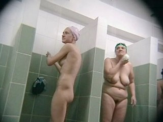 Plump in the shower