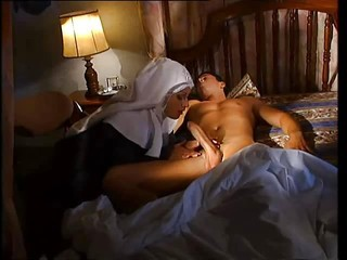 Big cock Blowjob European Italian Nun Sleeping Uniform