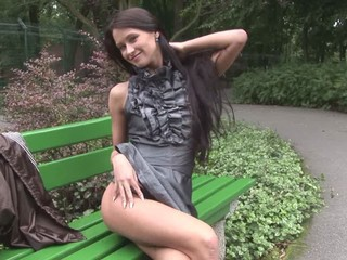 "Eroberlin Presents Maria From Russia In Sexy Animalpark"" target=""_blank"