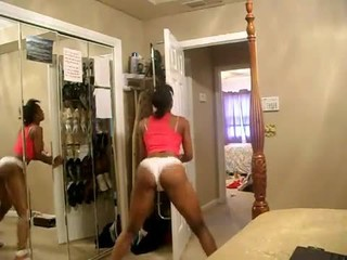 Black Teen Booty Shake in Bedroom OMG (PG) - Ameman