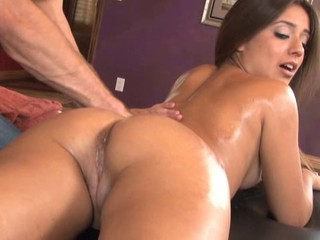 Amazing Ass Latina Massage Oiled Shaved