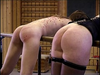 Ass Brunette Corset Spanking Stockings