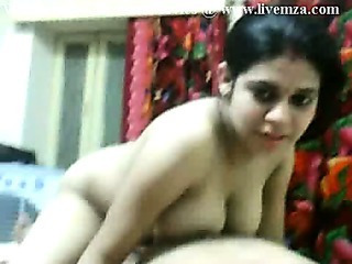 Indian Newly Married Kanika Enjoying With Husband Friend