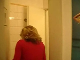 Toilet Blond Horny