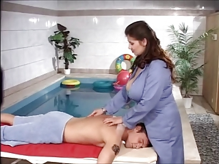 Bozena - Chubby Boobs Rub down