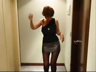 Amateur Drunk Mature Redhead Stripper