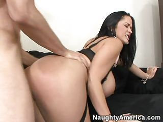 Carmella Bing getting pounded hard on her cunt doggyway