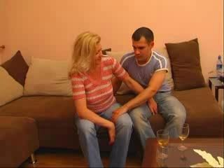 Mature Mom And Young Lover
