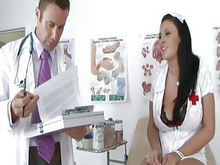 Nurse Bella Blaze Gets Some Doctoring Lessons