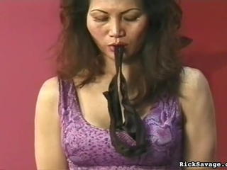 Villein Gagged And Vagina Whipped