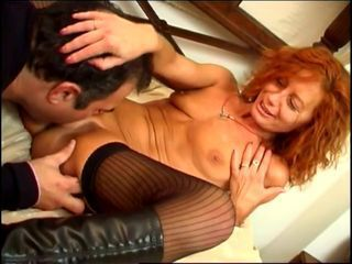Spanish couple fucking in a big bed