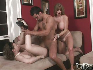 Darla Crane Gets Nasty With A Younger Girl In A Hot Threesome