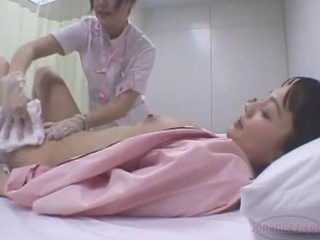 "Lesbian Doctor Washes Asian Girls and Kisses"" target=""_blank"