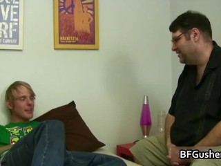 Blindfolded Cory Gets His Jizzster Part6
