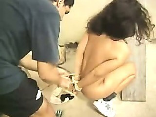 Amateur Bondage Brunette Teen
