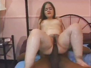 Midget Takes A Cock Half Her Size