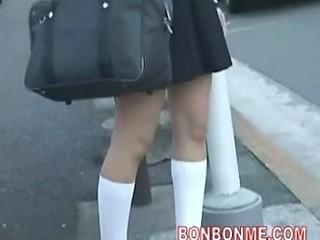 Schoolgirl Blowjob And Fucked By...