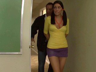 Cute Schoolgirl Gracie Glam Gets...