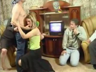 Family Orgy With Mom Dad Daughte...