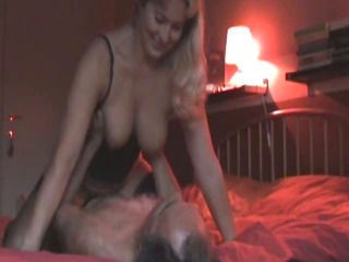 Blonde MILF Gets Fucked On Bed