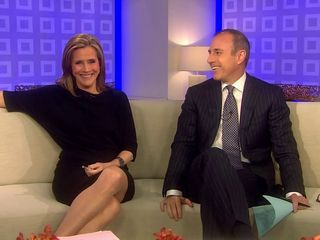 Meredith Vieira Upskirt Exceeding The TODAY Operation
