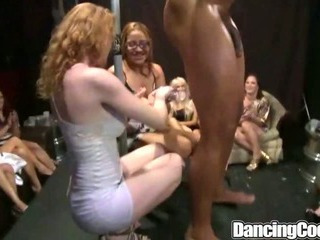 Dancingcock Huge Cock Milf Orgy....