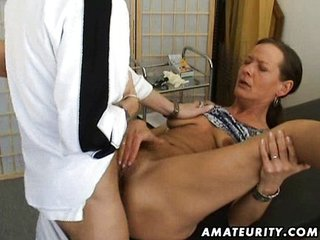Brunette Mature Doctor Amateur